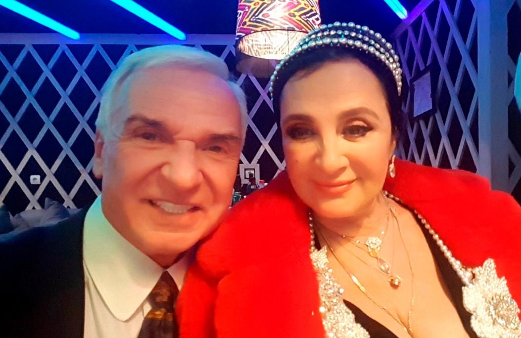 Станислав Попов и Ирина Виннер, Президент Федерации Художественной  гимнастики России, Герой труда России.
