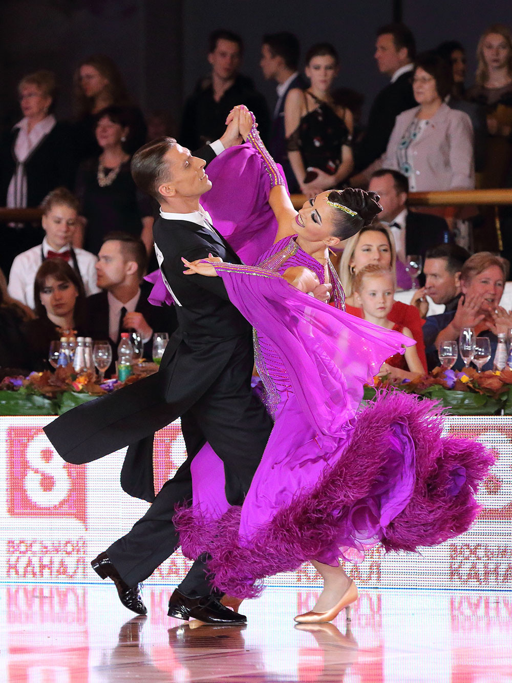 Сергей Сутырин и Наталья Сажина, Россия