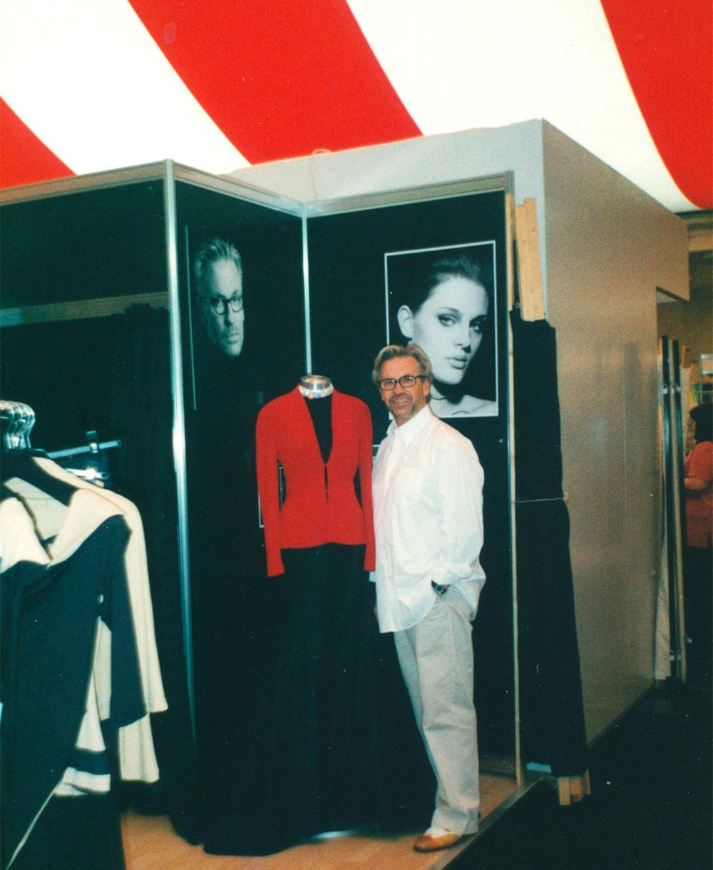 Блэкпул 2003: Эспен Салберг и его танцевальный бутик Espen International