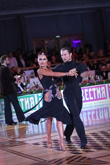 Даниил Егоренко и Юлиана Менжинская, Россия, фото Елена Анашина