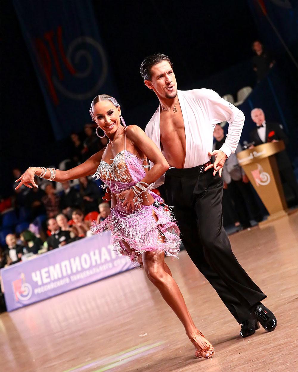 Михаил Попов и Анастасия Дубровская