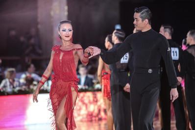 Лу Дэу и Ран Джао, Китай, профессионалы, фото Ирина Неволина