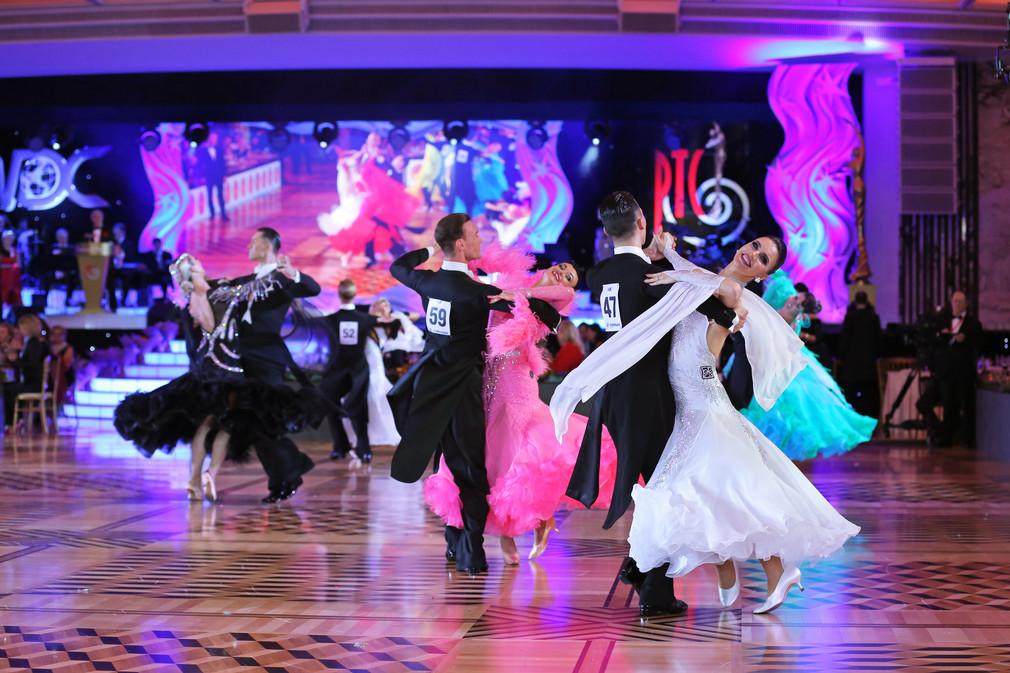 Чемпионат мира по стандарту по версии WDC: музыка танца