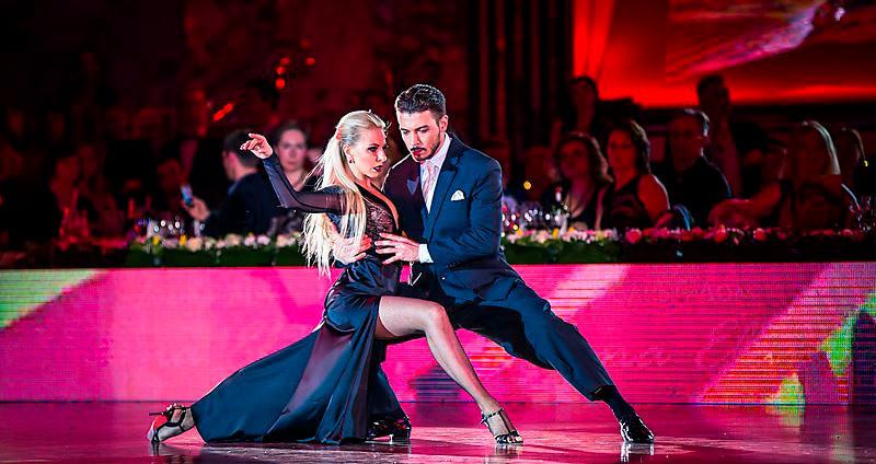 Кирилл Паршаков и Анна Гудыно, аргентинское танго
