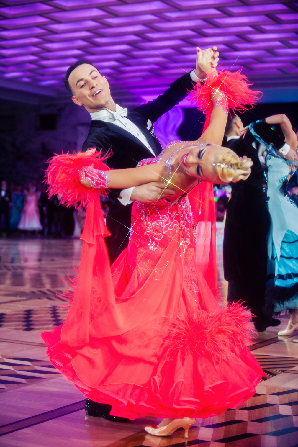 Италия на чемпионате мира по европейским танцам в Кремле