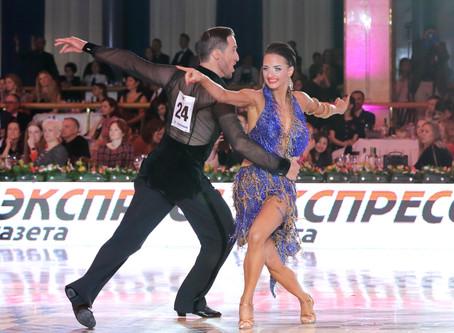 Итальянцы в финале чемпионата Европы WDC по латиноамериканским танцам в Кремле