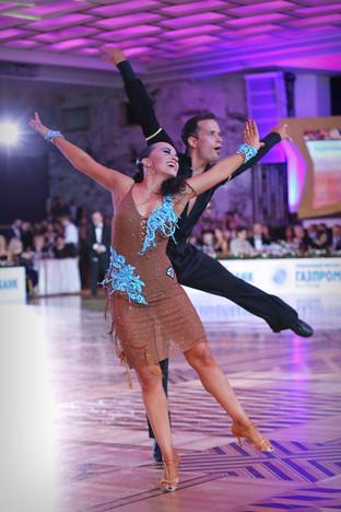 Дамир Халужан и Анна Машциц, Словения, любители, фото Елена Анашина