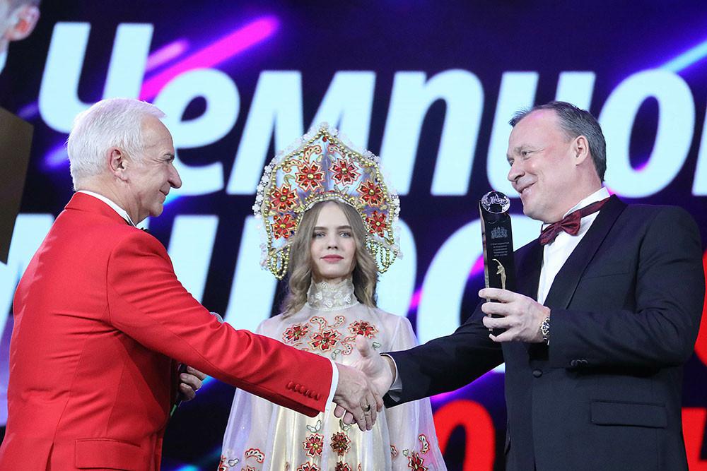 Станислав Попов и вице-губернатор Свердловской области Алексей Орлов