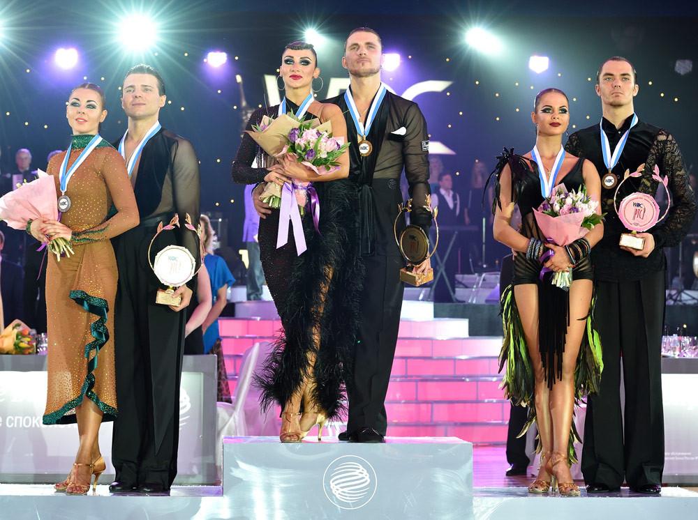 Победители Чемпионата Европы 2016 по латиноамериканским танцам