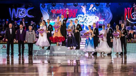 Победители чемпионата мира по европейским танцам, фото Алексея Исмагилова