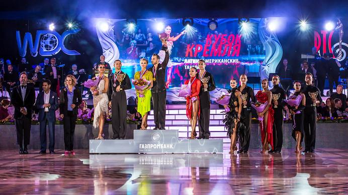 Победители Кубка Кремля по латиноамериканским танцам среди любителей, фото Алексей Исмагилов