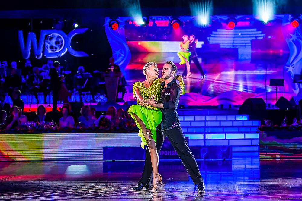 Фердинандо Ианнаконе и Юлия Мусихина (США), фото Алексей Исмагилов