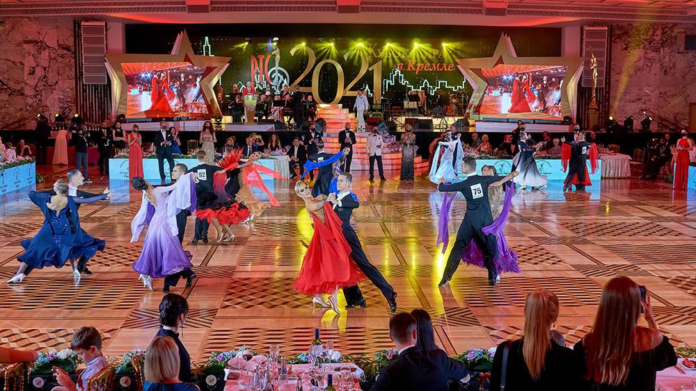 Кубок Кремля по европейским танцам среди любителей, фото Михаил Токмачев