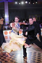 Алексей Половников и Ольга Щербина American Smooth, фото Елена Анашинаi