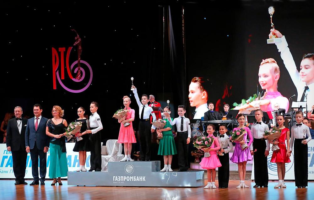 Победители Кубка Станислава Попова по латиноамериканским танцам