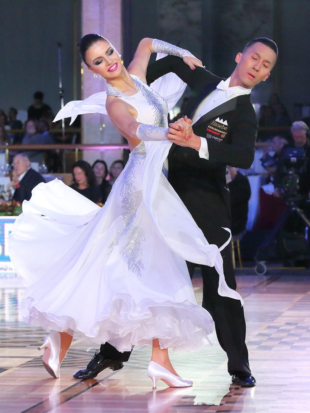 Виктор Фанг и Анастасия Муравьева (США)