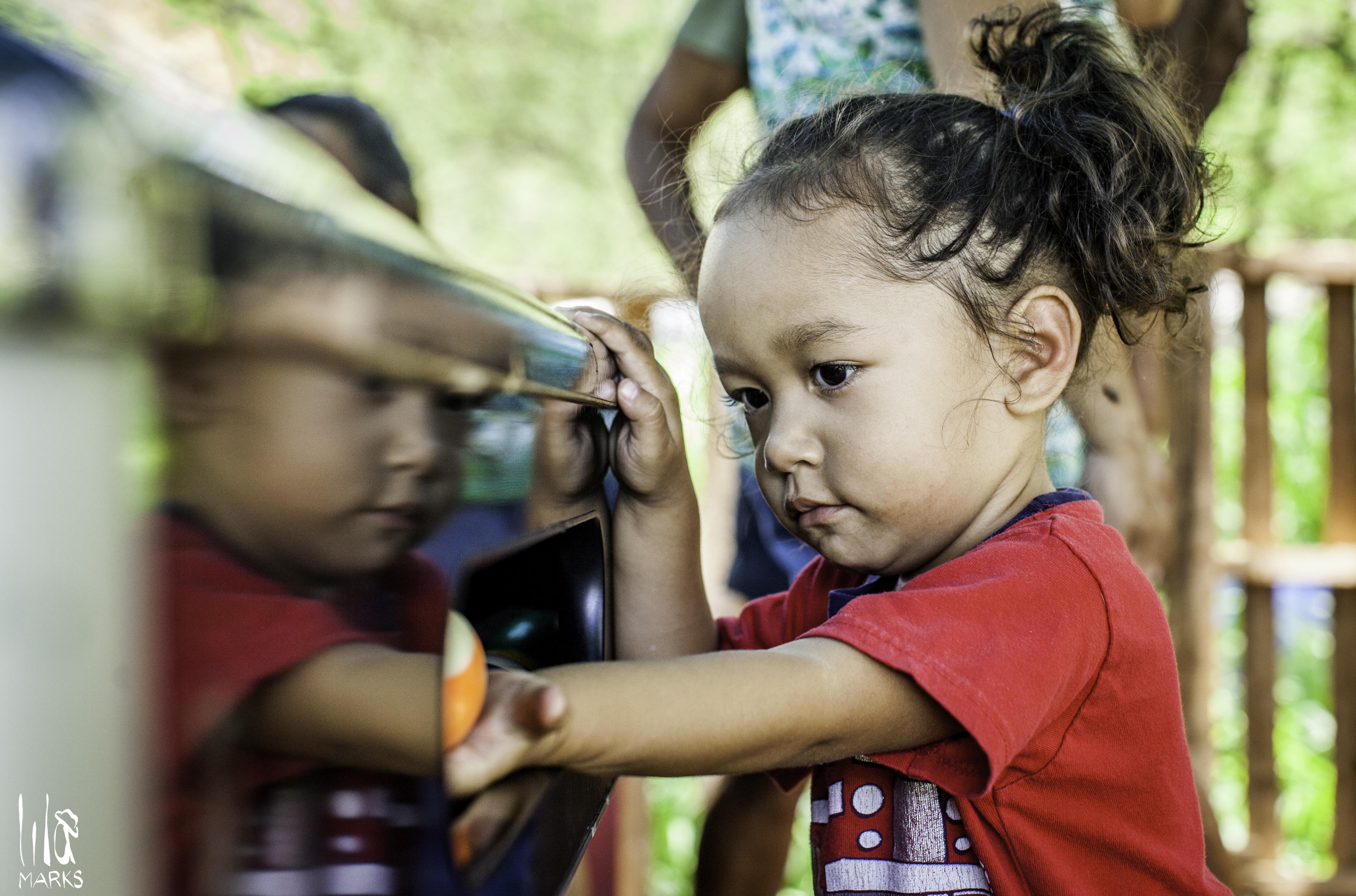 Child in Boat Harbor Community