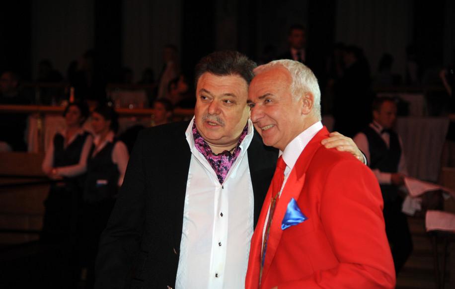 С бизнесменом Ильей Баскиным.