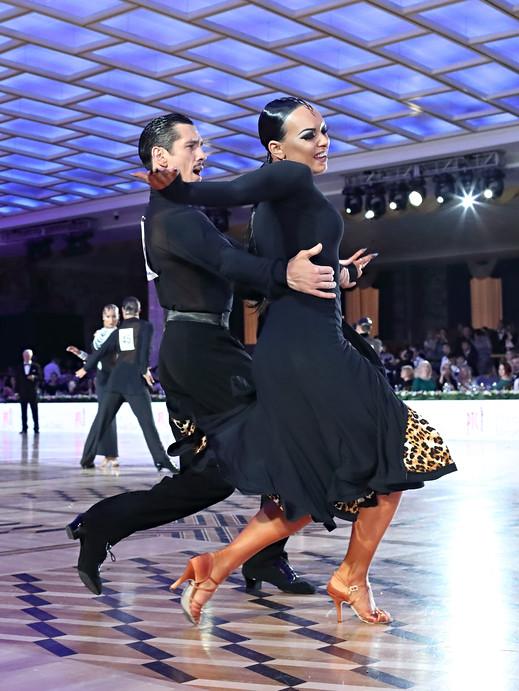 Михаил Попов и Вероника Тамарова, фото Юрий Коныжев