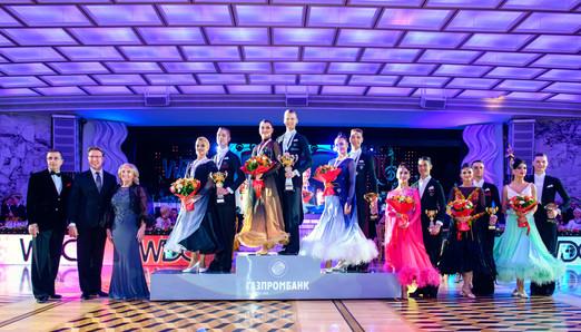 Победители и финалисты Кубка Кремля по европейским танцам среди любителей, фото Светозар Андреев