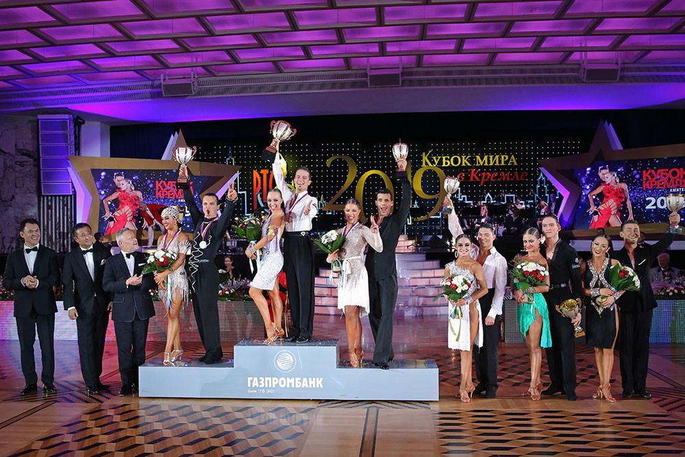 Победители Кубка Кремля 2019 латиноамериканские танцы любители