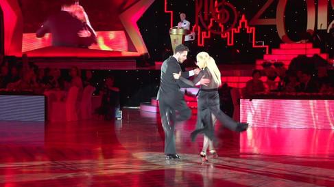 Шоу-номер: Кирилл Паршаков и Анна Гудыно - аргентинское танго