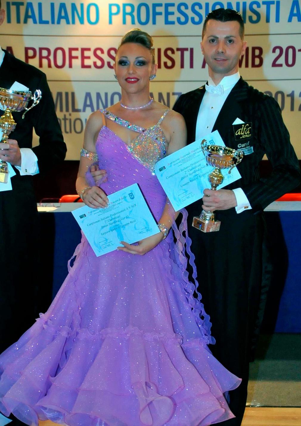 Джузеппе Риццо и Катюша Гарбин: «Мы очень горды, что сможем представлять свою нацию на Чемпионате ми