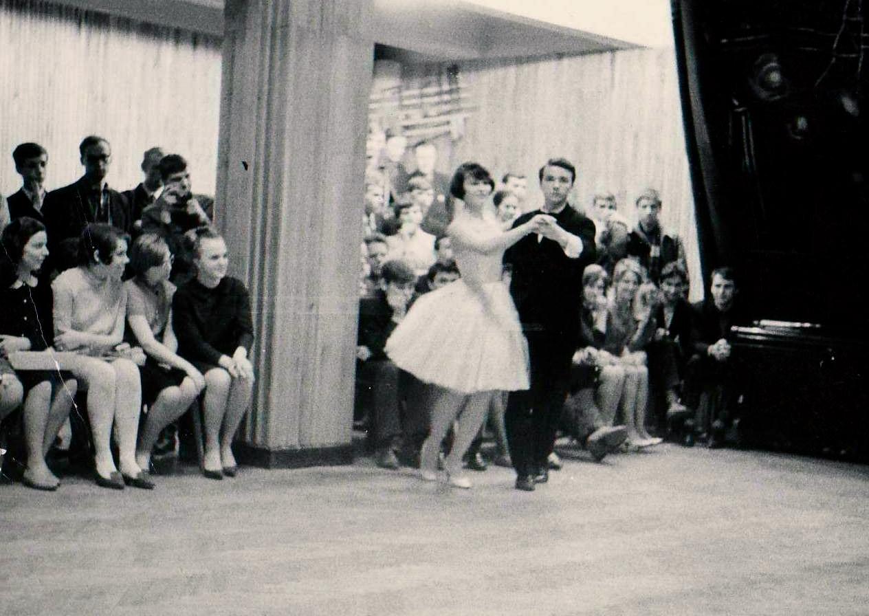 Первый турнир! Весна 1967 года в ДК Химик с Анной Кушнаревой.