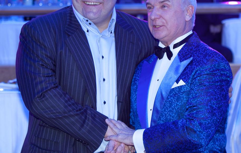 С Вице-мэром Москвы Сергеем Байдаковым.