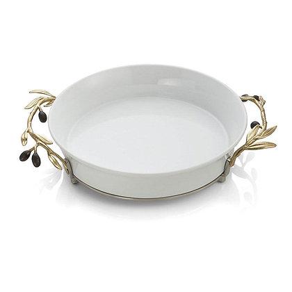 Olive Branch Pie Dish