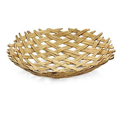 Palm Centerpiece Shallow Bowl