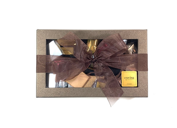 Assorted Dark Chocolate Box - Large