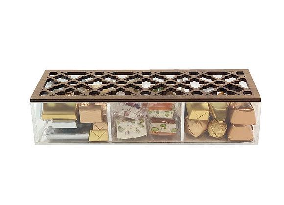 Wooden Arabesque Box- Medium