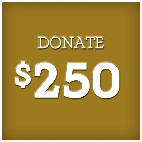 DONATION - $250