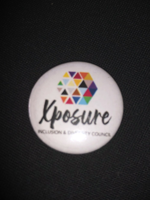 Xposure 'Support' lapel pin