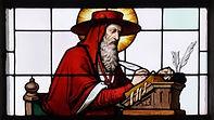 St. Jerome, patron saint of libraries, p