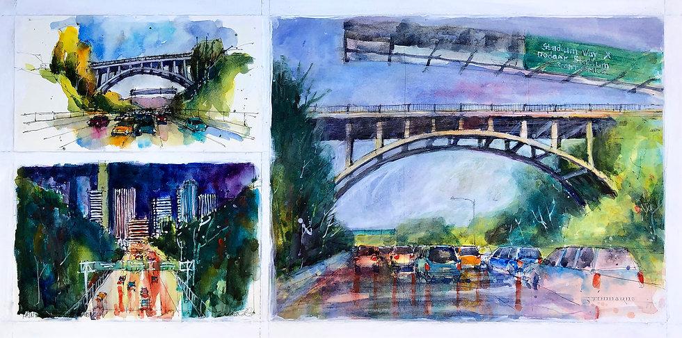 Park Row Drive Bridge