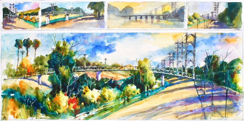 LA River Collage