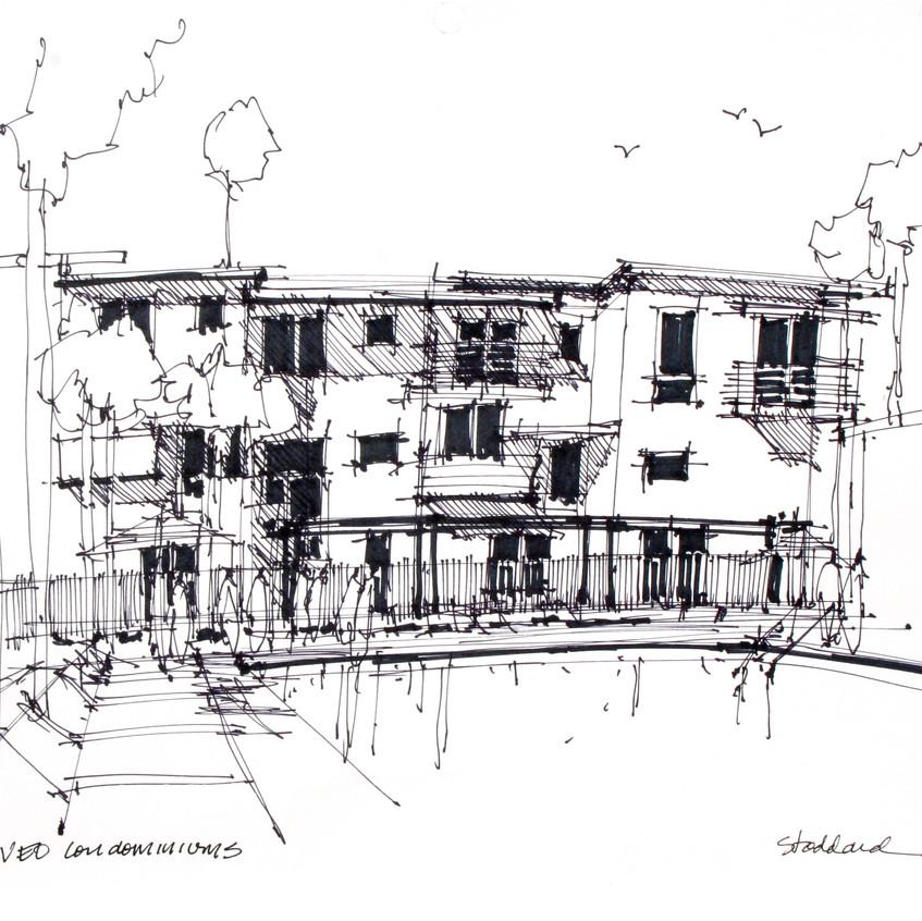 condo development sketch