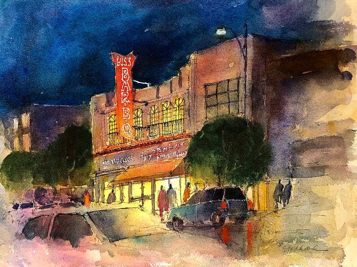 Gus's BBQ, South Pasadena