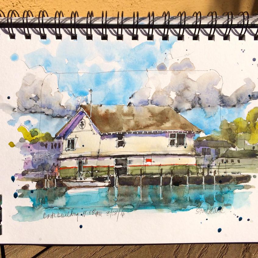 11 dock building
