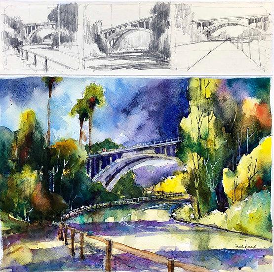 Holly Street Bridge, Pasadena
