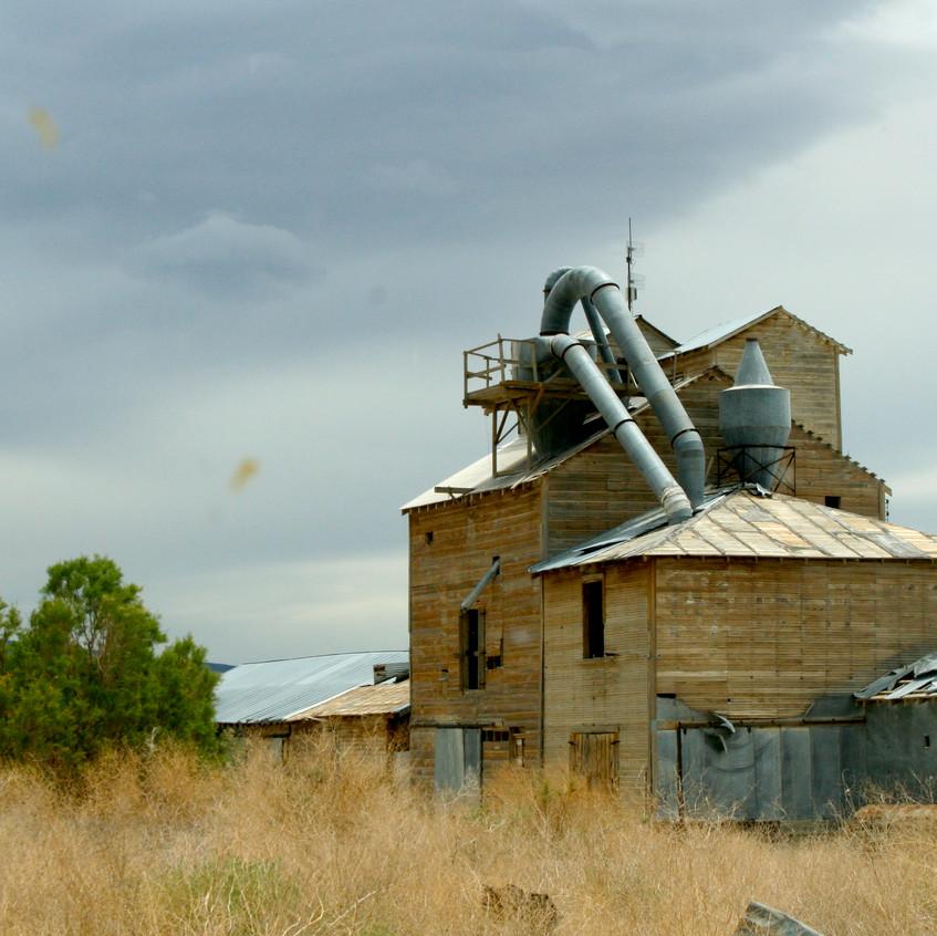 The talc mill.