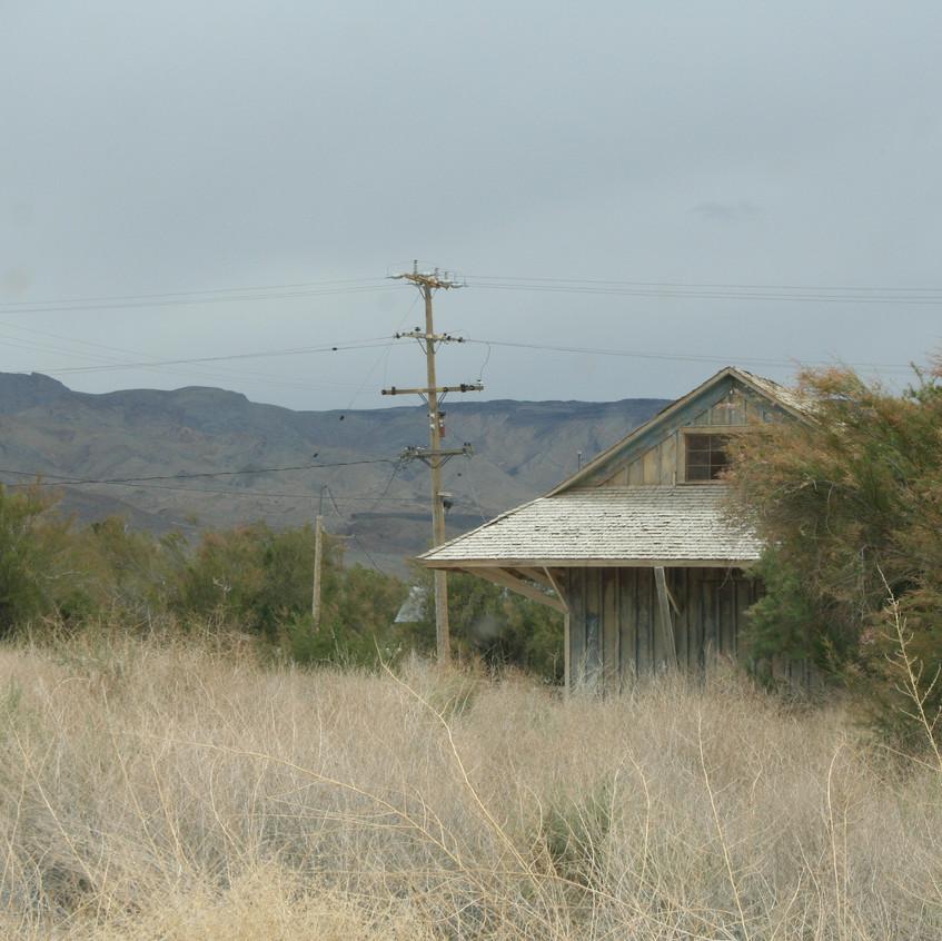 Abandoned train station, version 2.