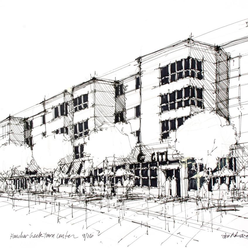 retail development sketch