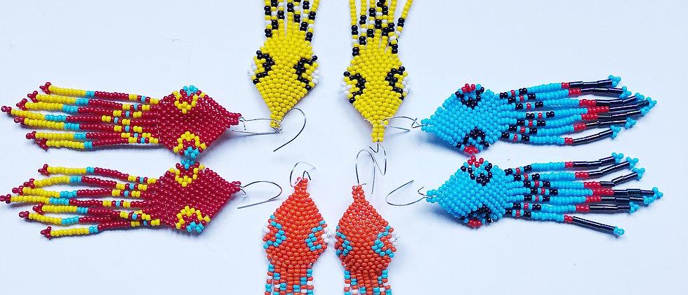 Diamondhead  Fringed Earrings