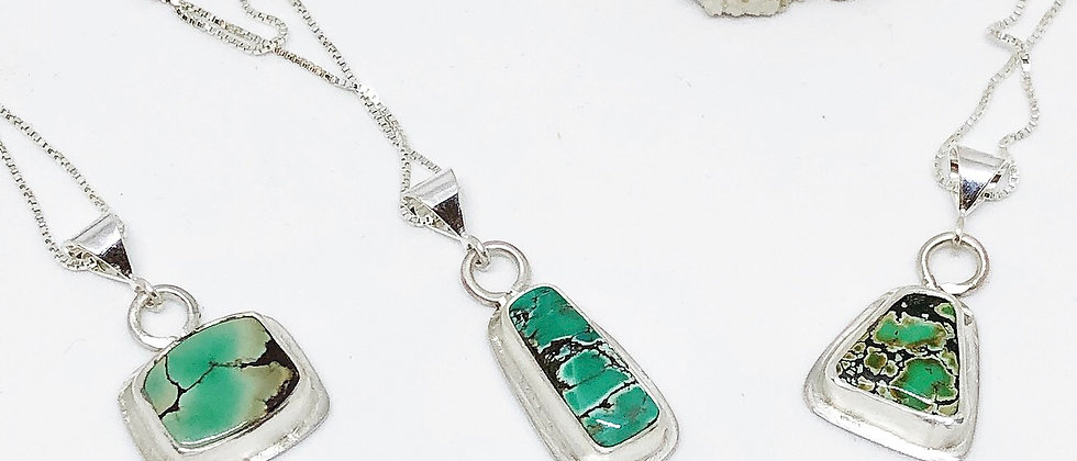 Charming Bamboo Turquoise