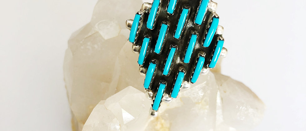 Impeccable Turquoise Statement Ring