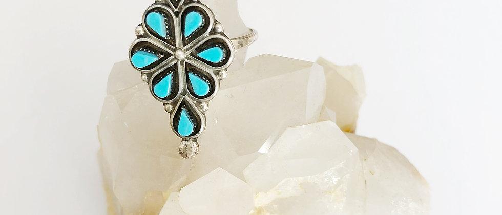 Sweetest Snake Eyes Turquoise Ring
