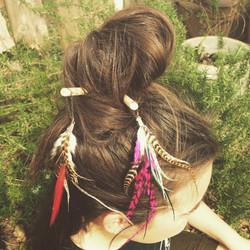 Feathered Hairsticks